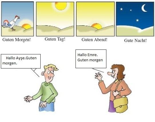 Приветствие на немецком картинки