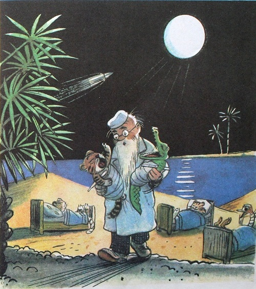 Доктор Айболит из сказки картинки   рисунки004