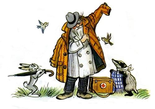 Доктор Айболит из сказки картинки   рисунки017