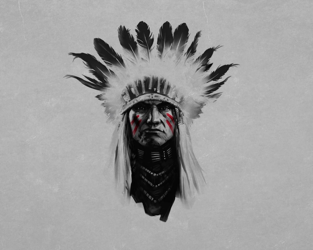 Индейцы обои010
