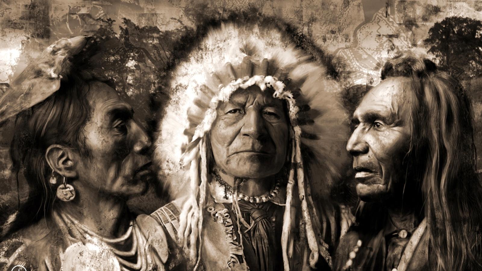 Индейцы обои013