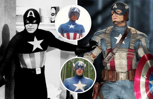 Капитан Америка картинки супергероя   подборка фото005