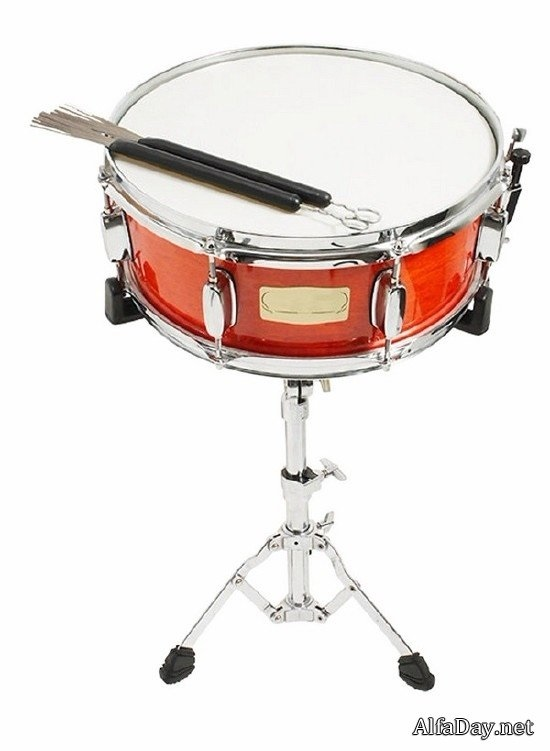 Картинка барабан для детей на прозрачном фоне   очень красивые020