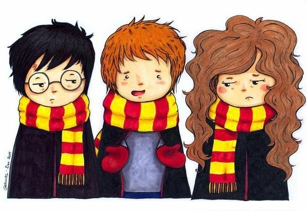 Картинки Гарри Поттер красивые   красивая подборка014