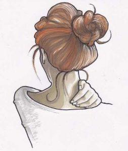 Картинки девушки красивые рисованные   красивая подборка014