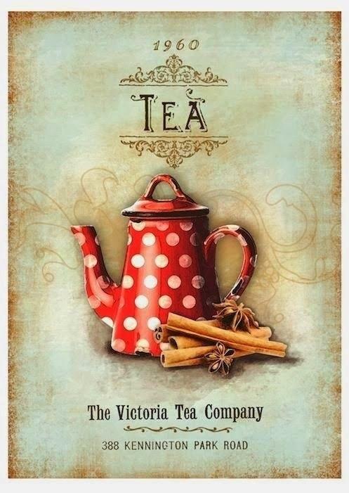 Картинки для декупажа кофе чай   прикольные008