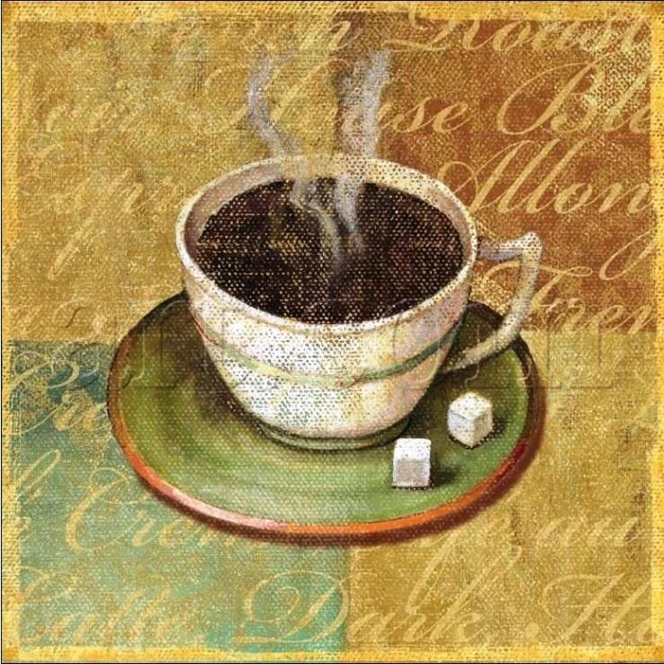 Картинки для декупажа кофе чай   прикольные009