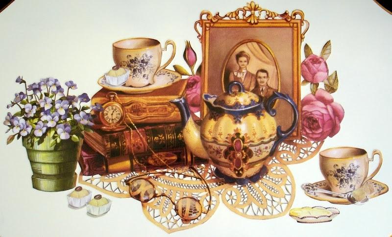 Картинки для декупажа кофе чай   прикольные014