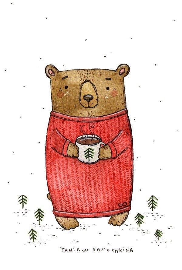 Картинки для декупажа медведи   классные011