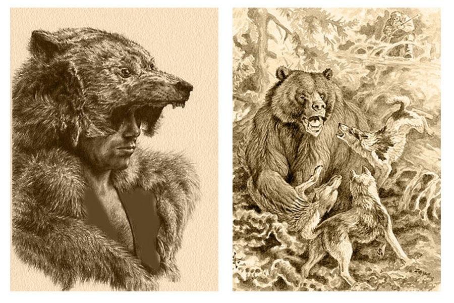 Картинки для декупажа медведи   классные019
