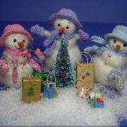 Картинки для декупажа снеговики   подборка021