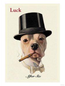 Картинки для декупажа собаки с сигарой018