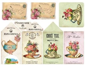 Картинки для декупажа чайная тема – скачать бесплатно018