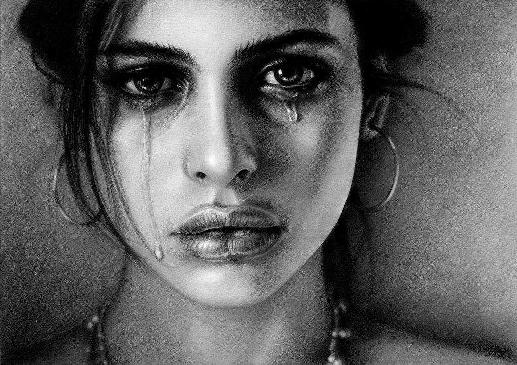 Картинки женщина в слезах   красивая подборка001