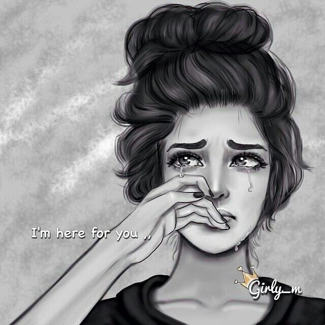 Картинки женщина в слезах   красивая подборка007