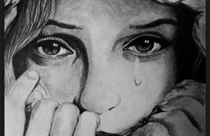 Картинки женщина в слезах   красивая подборка009