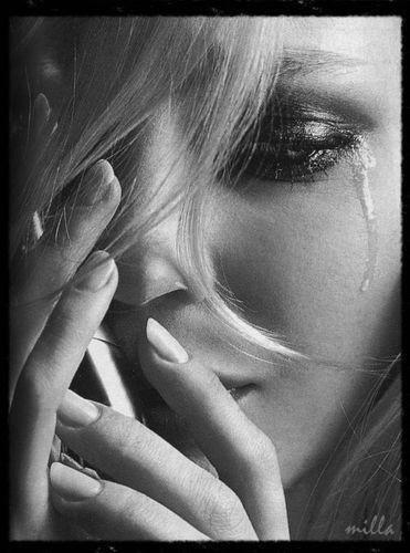 Картинки женщина в слезах   красивая подборка020