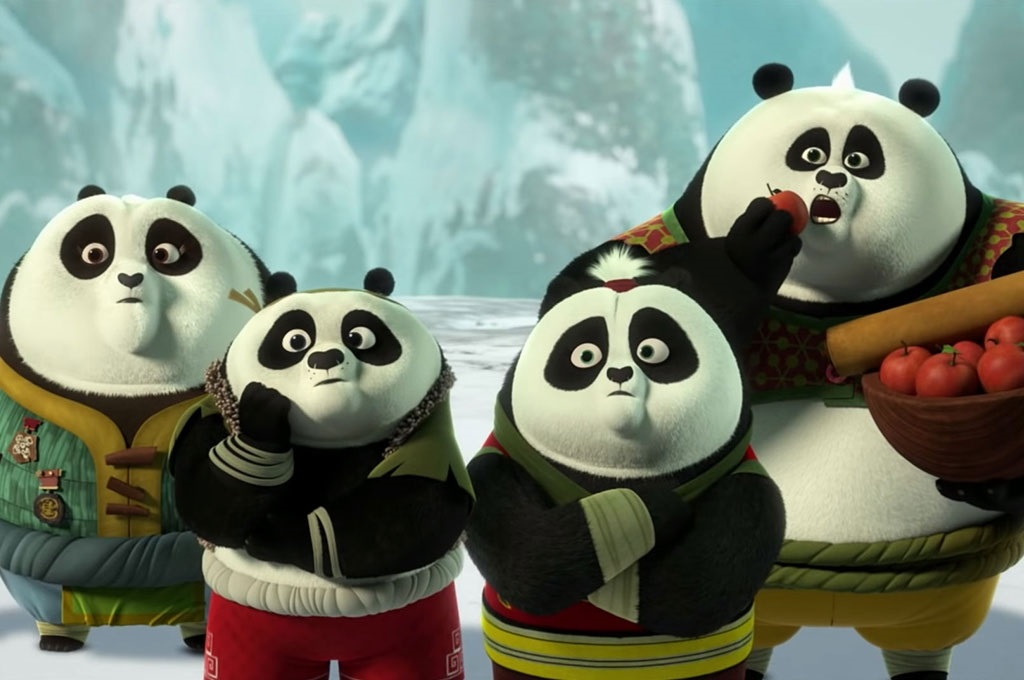 кунг фу панда картинки маленькие время пожара кореянка