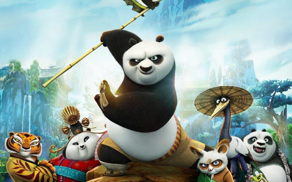 Днем рождения, картинки кунфу панда приколы
