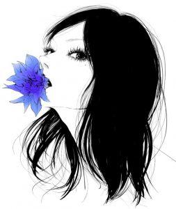 Картинки мультяшные девочки брюнетки   красивая подборка022