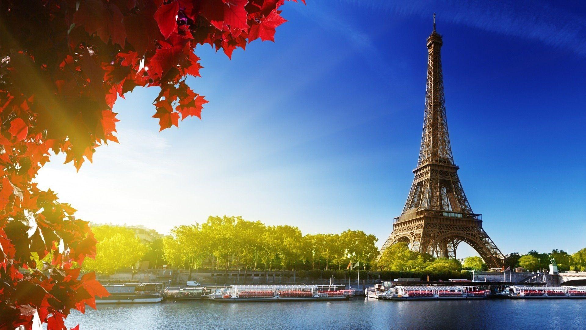 Картинки на рабочий стол осень в Париже001