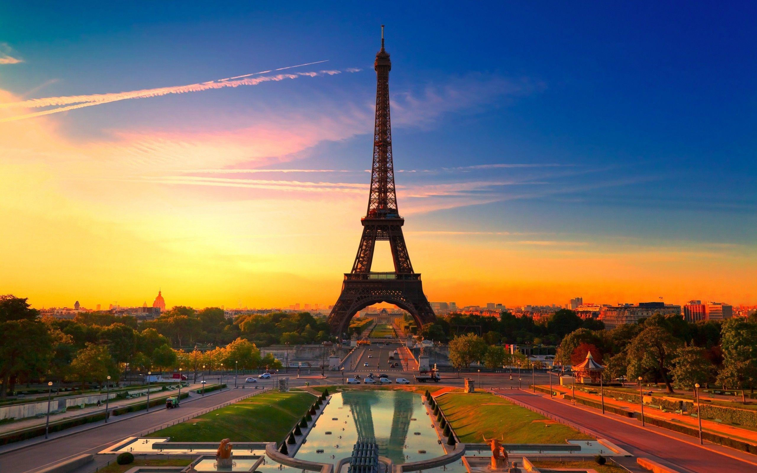 Картинки на рабочий стол осень в Париже003