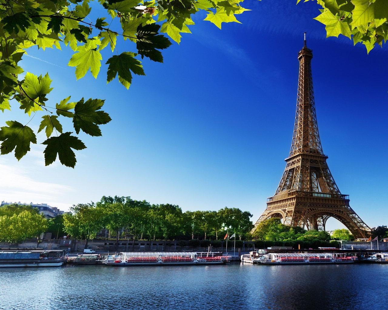 Картинки на рабочий стол осень в Париже007