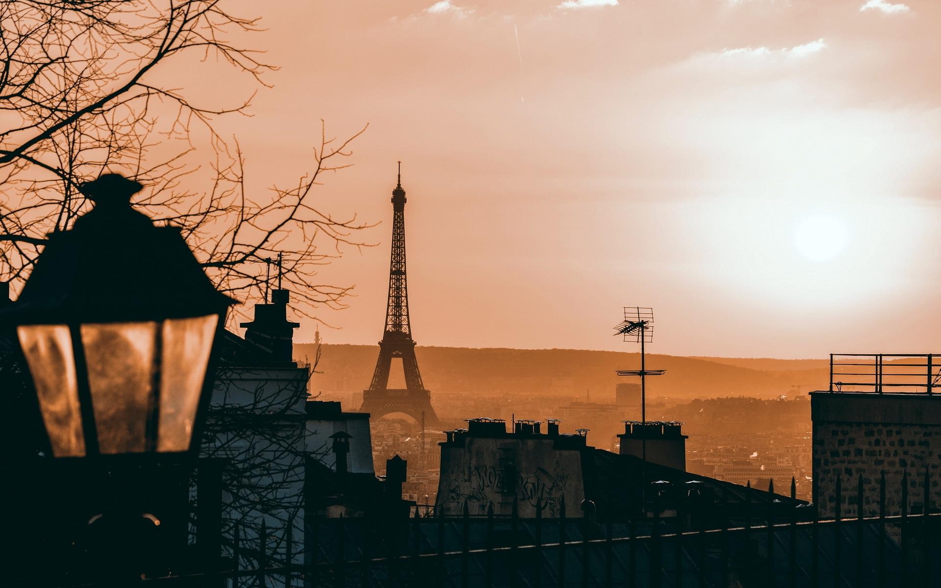 Картинки на рабочий стол осень в Париже008