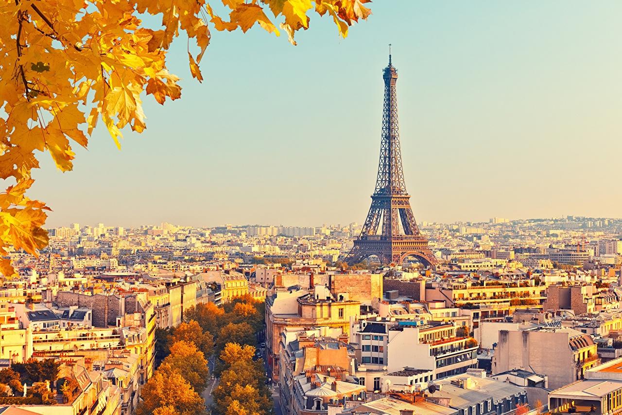 Картинки на рабочий стол осень в Париже011