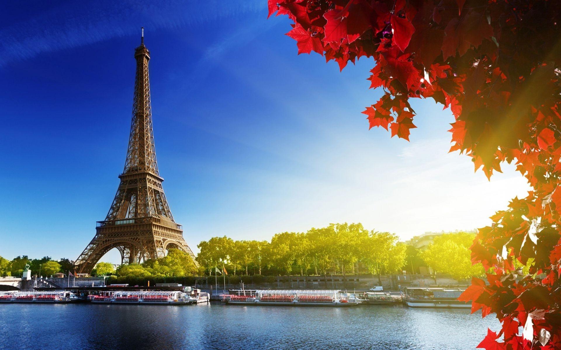 Картинки на рабочий стол осень в Париже012