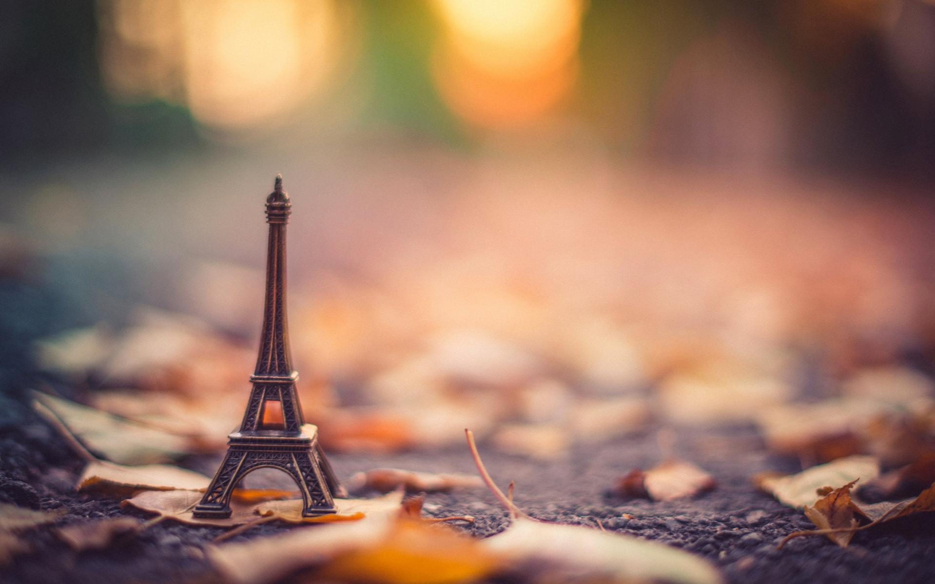Картинки на рабочий стол осень в Париже014