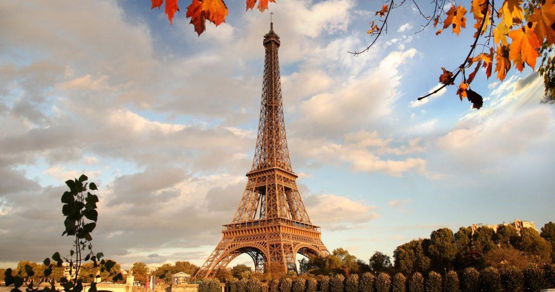 Картинки на рабочий стол осень в Париже017