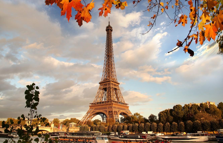 Картинки осень в Париже на рабочий стол004