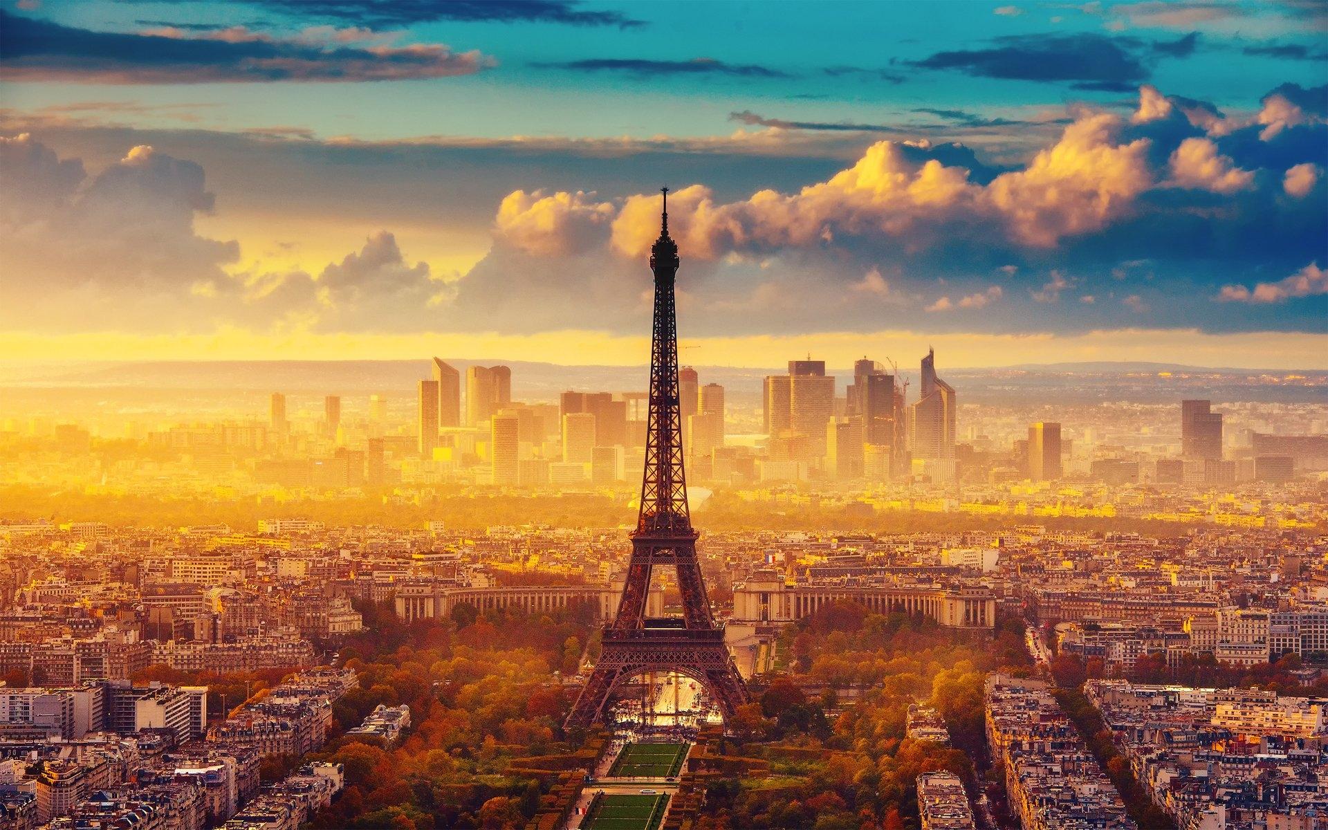 Картинки осень в Париже на рабочий стол006