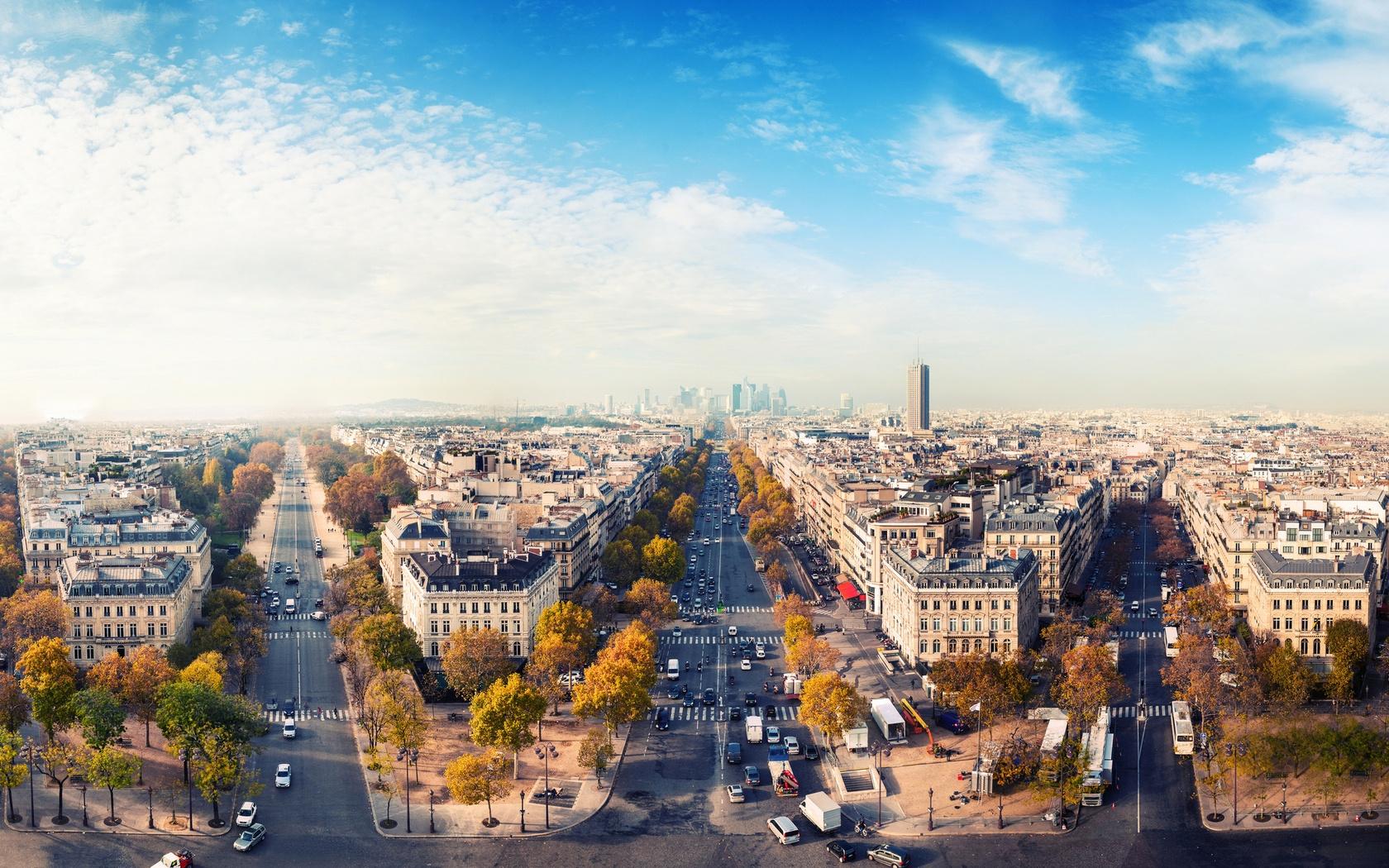 Картинки осень в Париже на рабочий стол008
