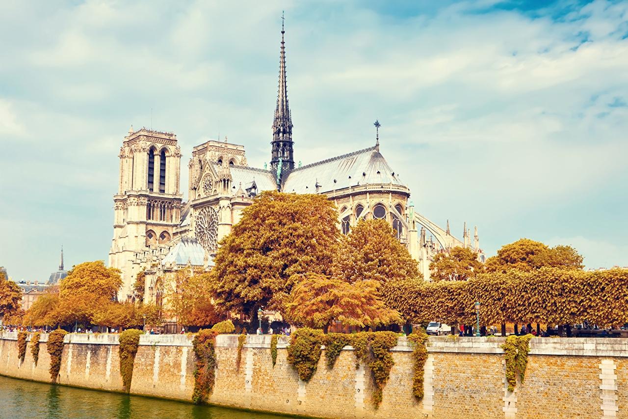 Картинки осень в Париже на рабочий стол014