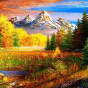 Картинки осень в горах   красивая подборка018