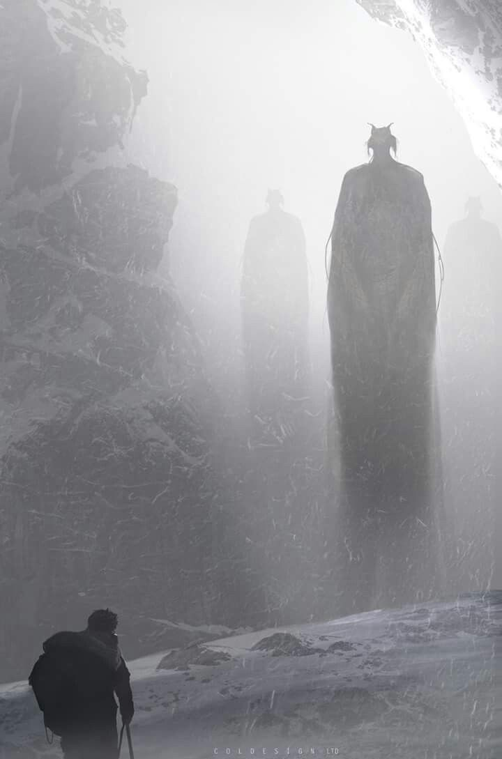 едва туман картинки монстр китайском стиле украсят
