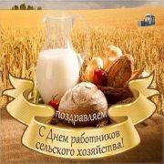 Картинки с днем работников сельского хозяйства   открытки023