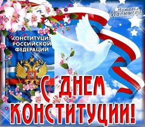Картинки с днём конституции России   открытки025
