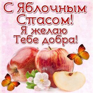 Картинки с преображением господним яблочным спасом   открытки026