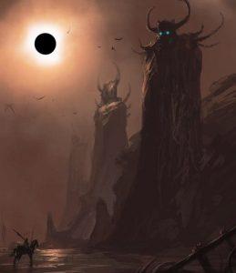 Картинки фэнтези монстров   подборка002