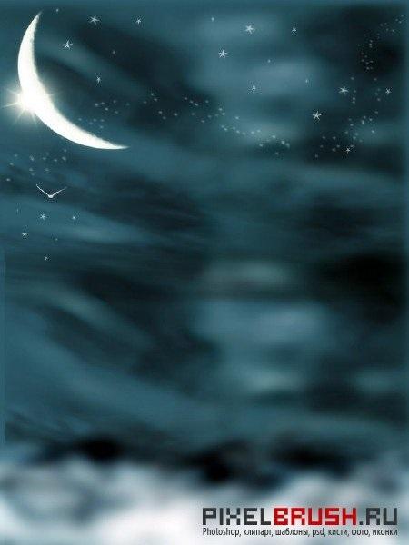 Картинки фэнтези ночь   подборка003