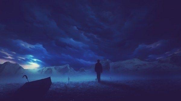 Картинки фэнтези ночь   подборка008