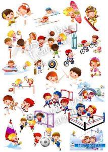 Клипарты для детского сада на прозрачном фоне   красивые фото001