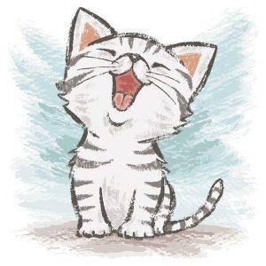 Котята нарисованные карандашом картинки   красивая подборка019
