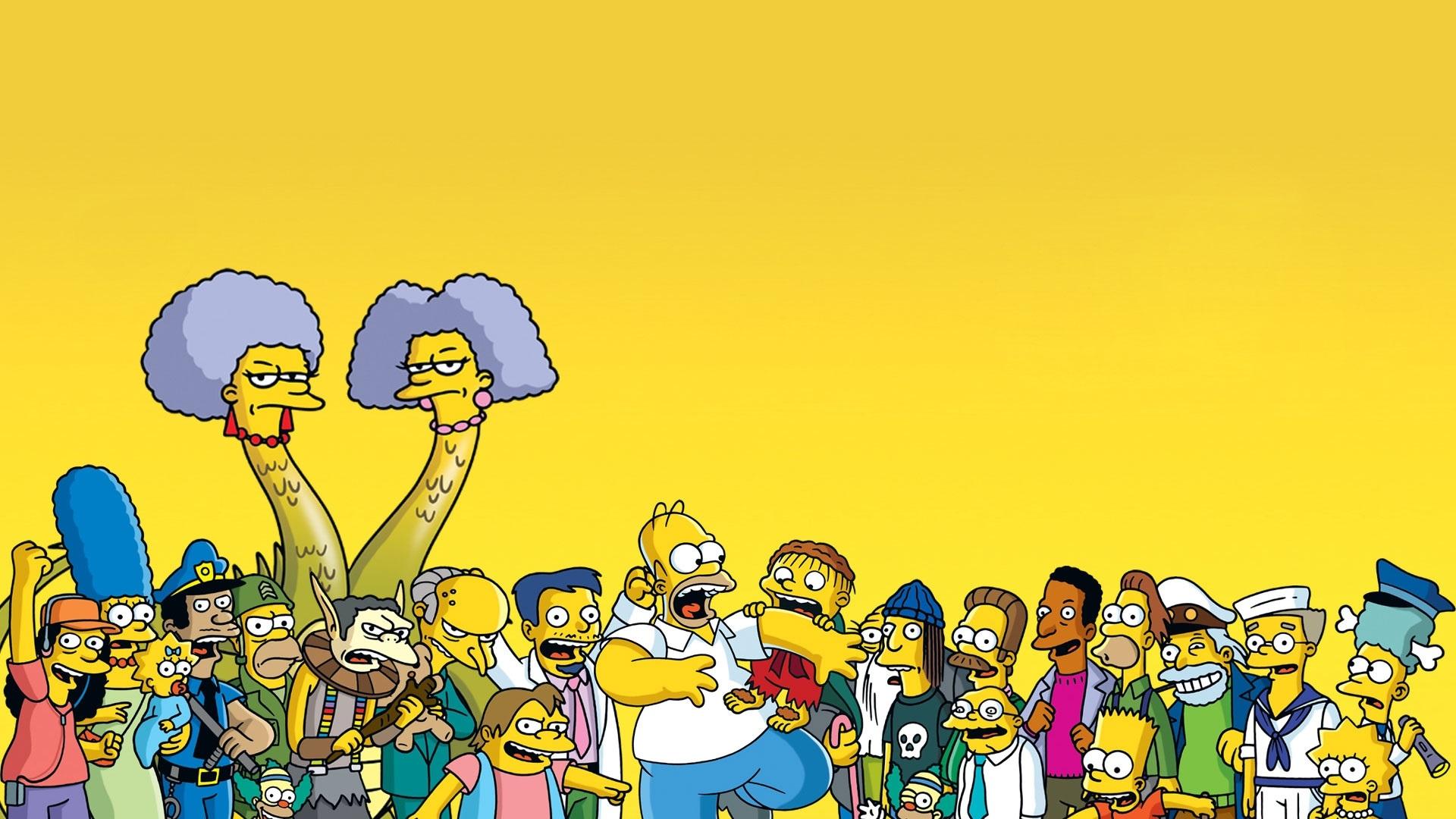 Красивые картинки Симпсоны на рабочий стол001