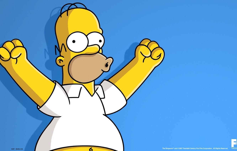 Красивые картинки Симпсоны на рабочий стол002