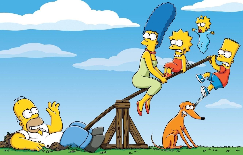 Красивые картинки Симпсоны на рабочий стол003
