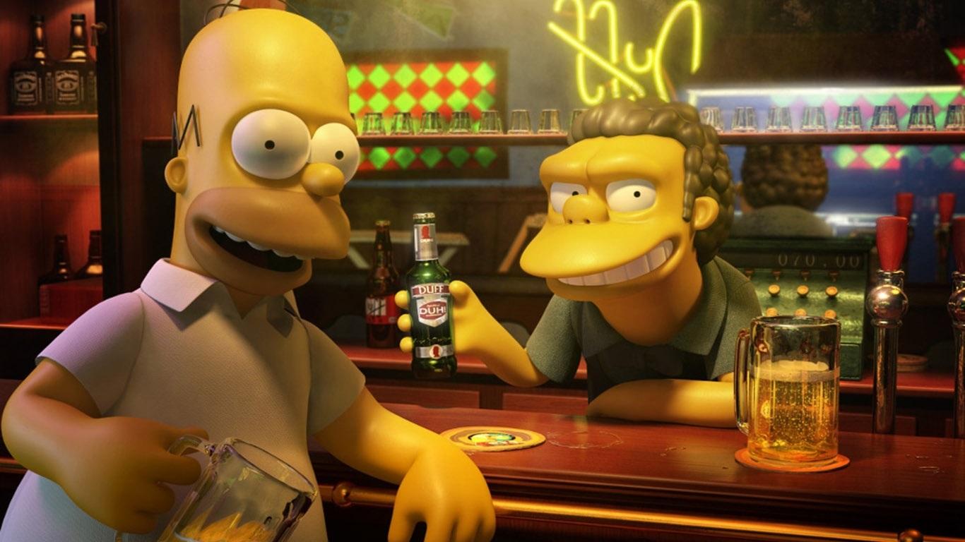 Красивые картинки Симпсоны на рабочий стол004